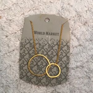 World 🌎 Market new necklace double ring